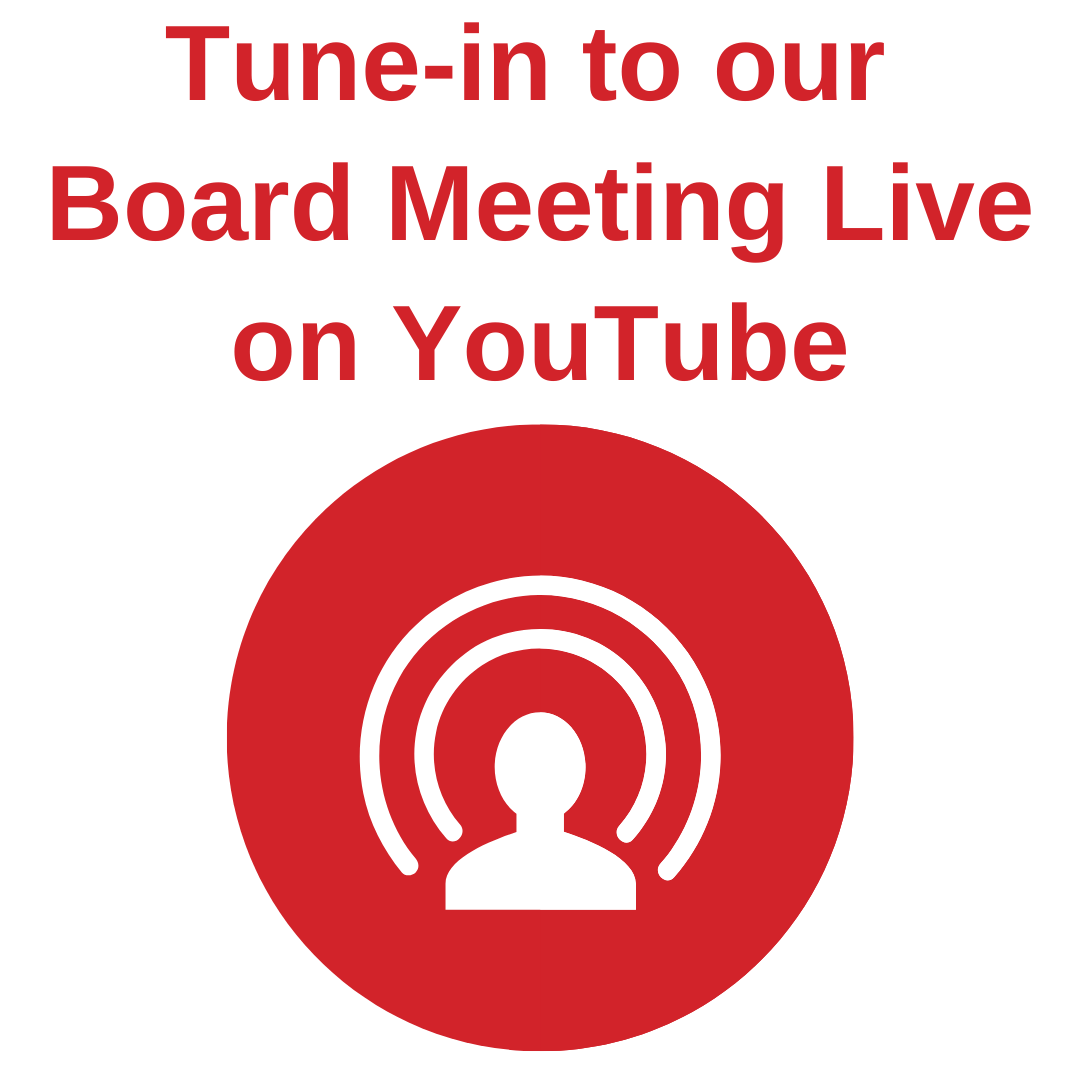 DSB1 Board Meetings Live on YouTube