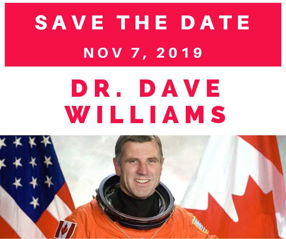Save the Date - Dr. Dave Williams
