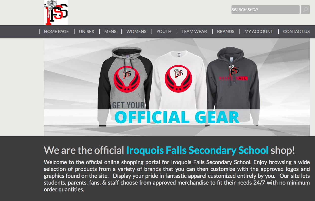 School Clothing Available!