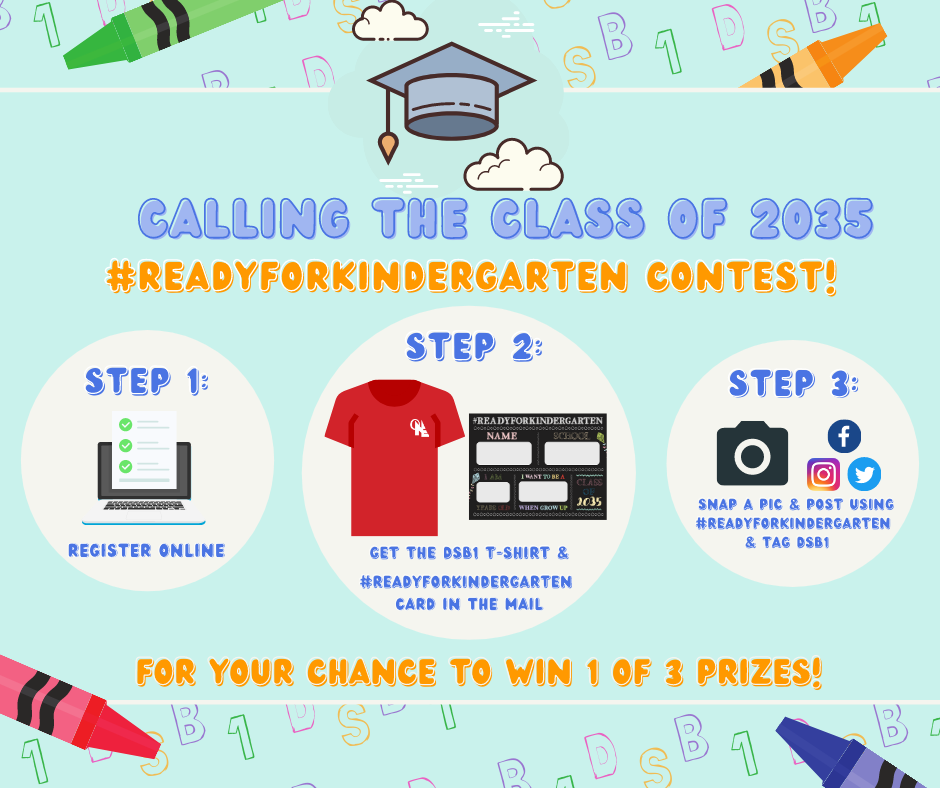 #ReadyForKindergarten contest