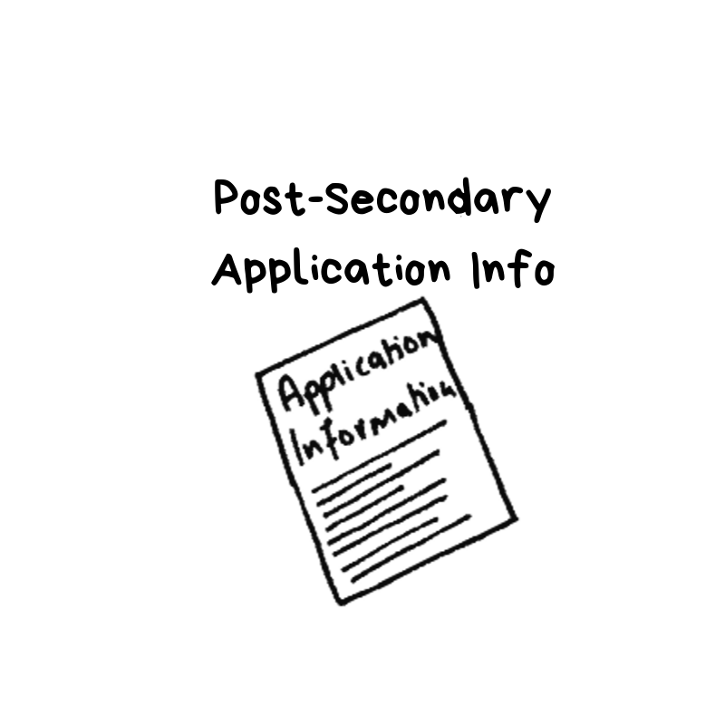 Post Secondary Application Information